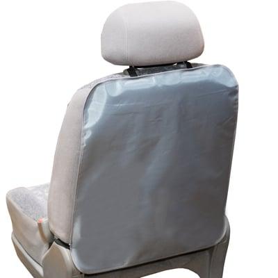 Защита спинки сиденья-органайзер SKYWAY ПВХ Серая 57*50см