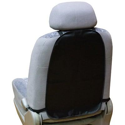 Защита спинки сиденья-органайзер SKYWAY ПВХ Черная 55*37см