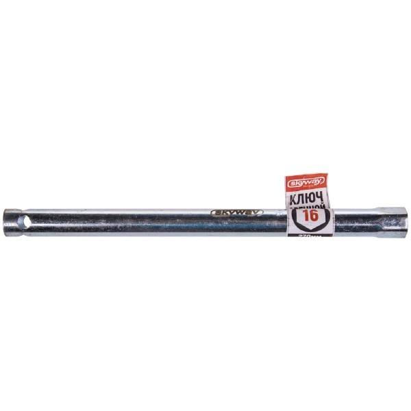Ключ свечной трубчатый 16*270 мм  SKYWAY