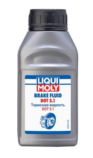 Тормозная жидкость LIQUI MOLY 8061 Brake Fluid DOT 5.1 0,25л