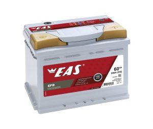 Аккумулятор автомобильный EAS EFB Start-Stop 60Ач 560А о/п