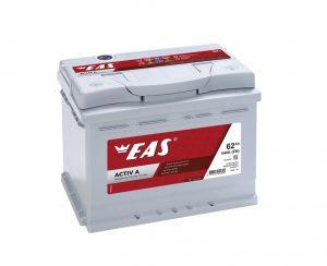 Аккумулятор автомобильный EAS ACTIV A 62Ач 540А о/п