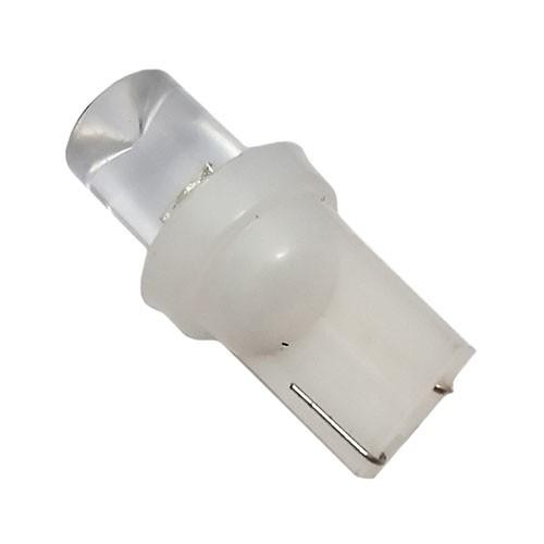 Автолампа светодиодная ДИАЛУЧ 92121 LED 1C 12V white,  W5W 12V 5W W2.1×9.5D, (белый, конус)