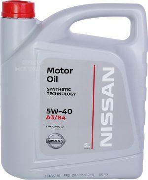 Масло моторное Nissan 5W-40 SL/CF 5л