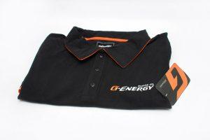 Поло G-Energy Премиум (с оранжевой обводкой)