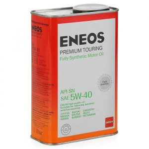 Масло моторное ENEOS Premium Touring 5W-40 SN 1л