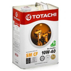 Масло моторное TOTACHI Eco Gasoline 10W-40 SM/CF полусинтетическое 4л