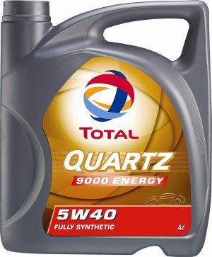 Масло моторное Total QUARTZ 9000 ENERGY 5W-40 SN/CF синтетика 4л