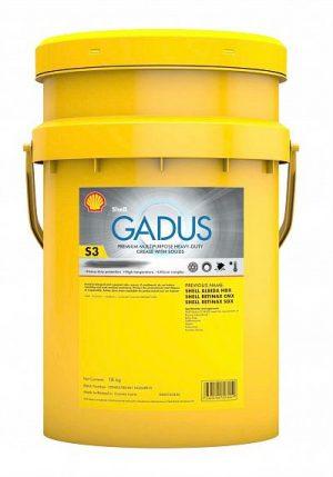 Смазка пластичная Shell Gadus S3 V220 C2 противозадирная многоцелевая 18кг