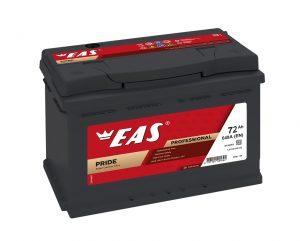 Аккумулятор автомобильный EAS PRIDE 72Ач 640А о/п