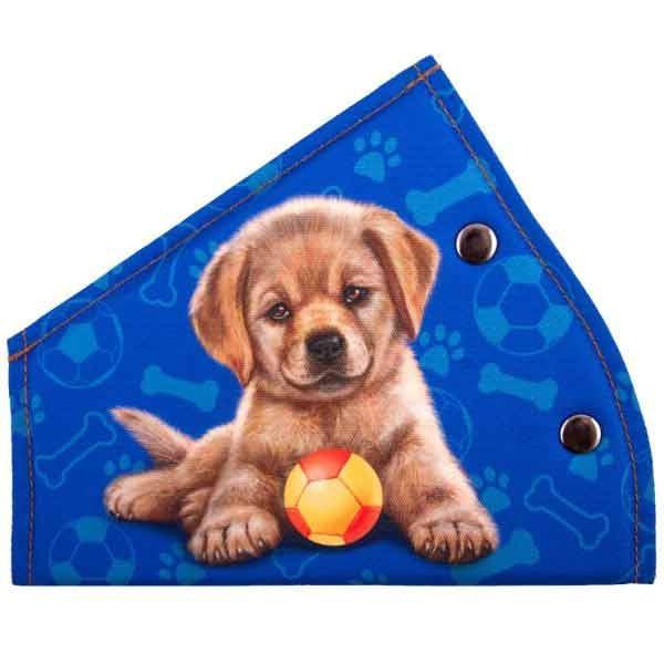 Адаптер ремня безопасности детский SKYWAY Щенок с мячом синий S04007010