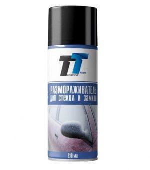 Размораживатель стёкол и замков TT CI02/091 аэрозоль 210мл