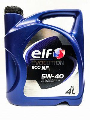 Масло моторное ELF EVOLUTION 900 NF 5W-40 SL/CF A3/B4 синтетика 208 л