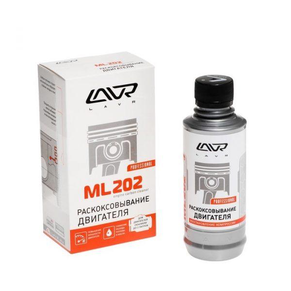 Раскоксовывание двигателя LAVR ML202 Engine carbon cleaner (для двигателей более 2-х литров) 330 мл