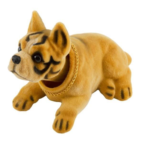 Собака большая в машину с освежителем Яблоко SKYWAY Боксер 16*9*10,5см