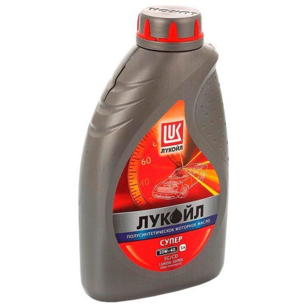 Масло моторное LUXE  СУПЕР   Sae 10W40 API SL полусинтетика 1л