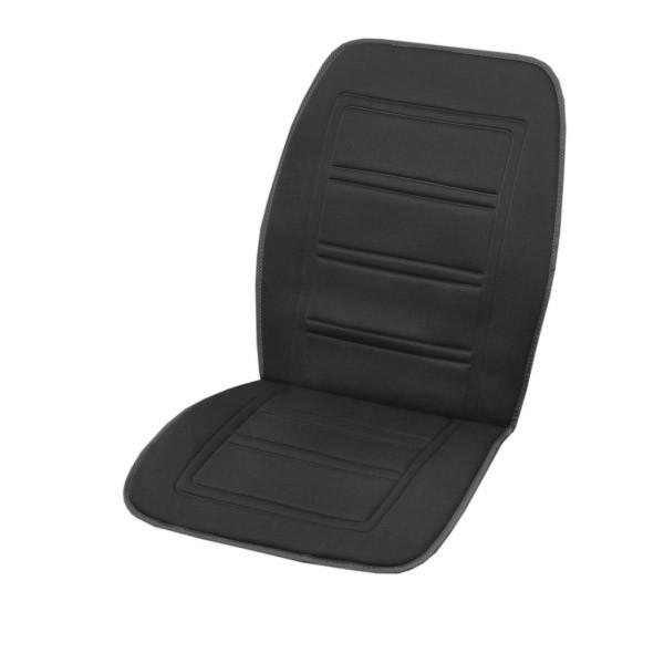 Подогрев сиденья со спинкой SKYWAY с терморегулятором (2 режима) 95х47см 12V Черный 2,5А-3А