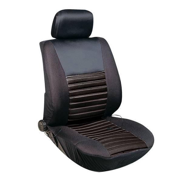 Чехлы сиденья с подогревом полиэстер SKYWAY с терморегулятором (2 режима) 2001 Черный 12V 116х56см