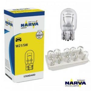 Автолампа NARVA 17919 STANDARD 12V W21/5W 21/5W W3x16d 10шт