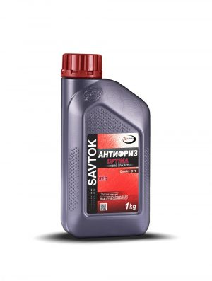 Антифриз SAVTOK OPTIMA G11 красный 1кг  (серая канистра)