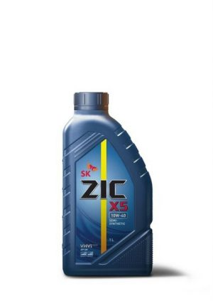 Масло моторное  ZIC  Х5  10W-40  API SN  PLUS  1л