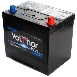 Аккумулятор автомобильный Volthor Ultra 65Ач 650А азия о/п