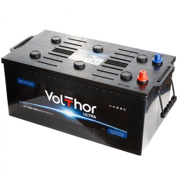 Аккумулятор автомобильный Volthor Ultra Truck 225Ач 1300А о/п