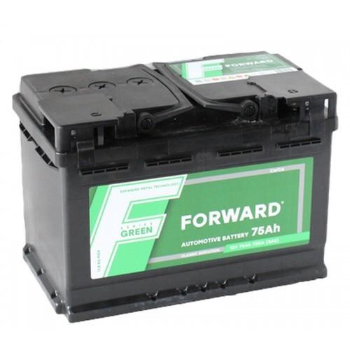Аккумулятор автомобильный FORWARD Green 6СТ-75 75Ач 680А п/п