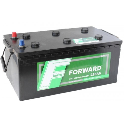 Аккумулятор автомобильный FORWARD Green 6СТ-225 225Ач 1400А евро