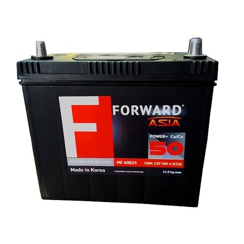 Аккумулятор автомобильный FORWARD Asia MF-50 50Ач 480А азия о/п