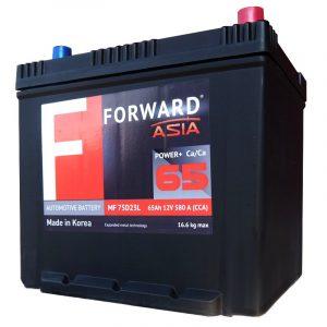 Аккумулятор автомобильный FORWARD Asia MF-65 65Ач 580А о/п