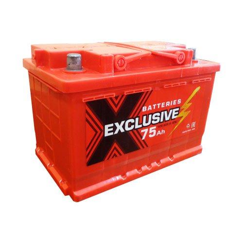 Аккумулятор автомобильный Exclusive 6СТ-75 75Ач 600А о/п