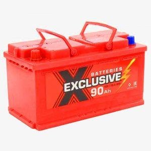 Аккумулятор автомобильный Exclusive 6СТ-90 90Ач 700А о/п
