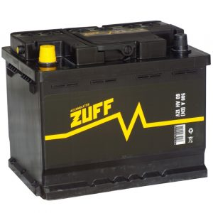 Аккумулятор автомобильный ZUFF 6СТ-60 60Ач 500А о/п