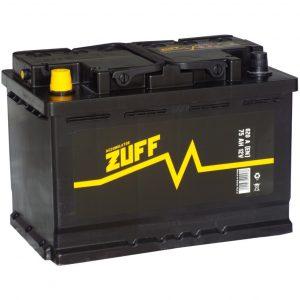 Аккумулятор автомобильный ZUFF 6СТ-75 75Ач 620А о/п