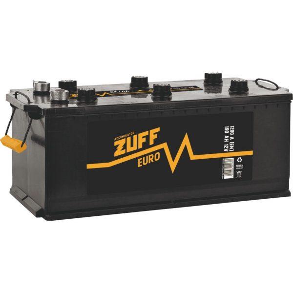 Аккумулятор автомобильный ZUFF 6СТ-190 190Ач 1200А п/п