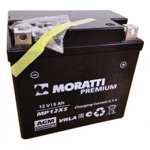 Аккумулятор для мотоцикла Moratti MP12x5 12V 4Ач о/п