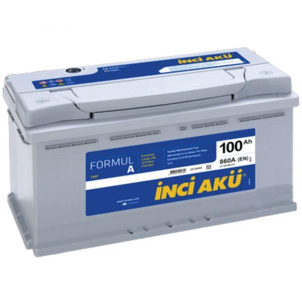 Аккумулятор автомобильный INCI FormulA 100Ач  860А о/п