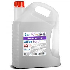 Антисептик DEW Clean-hand 62% 3.8л