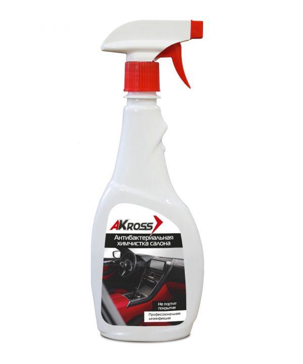 Химчистка салона антибактериальная AКross триггер 500мл