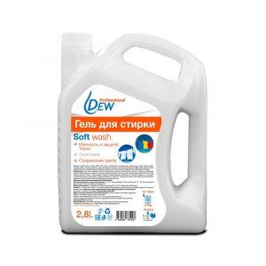Гель для стирки DEW Soft wash 2,8л