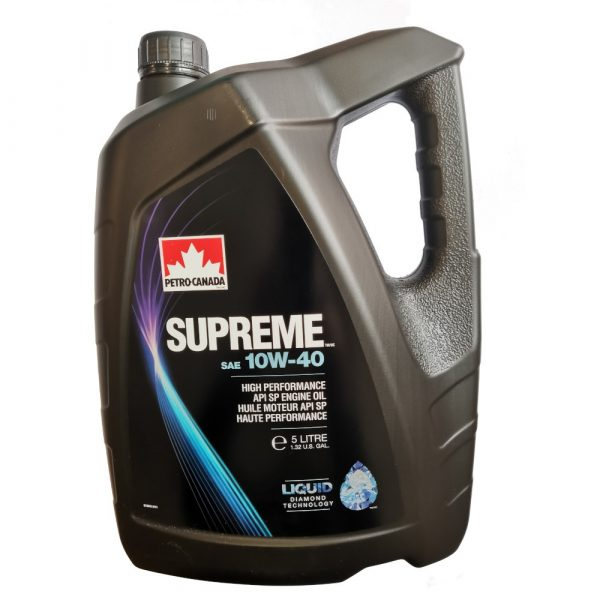 Масло моторное PETRO-CANADA SUPREME 10W-40 полусинтетика 5л