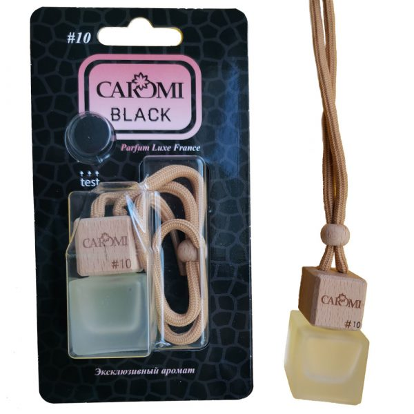 Ароматизатор подвесной CAROMI #10 по мотивам YSL-Black