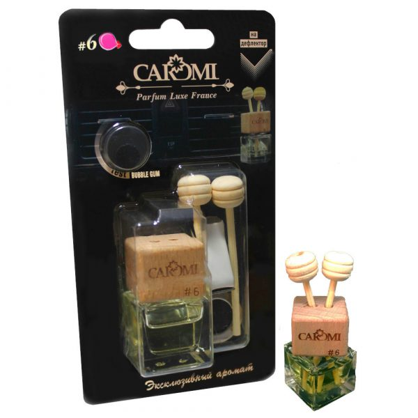 Ароматизатор на дефлектор CAROMI #6 Бубль гум