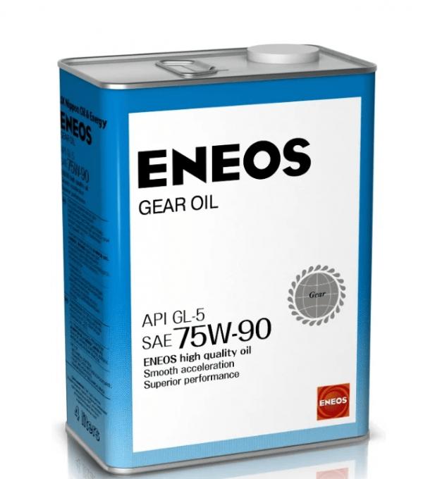 Масло трансмиссионное ENEOS GEAR 75W-90 GL-5 4л