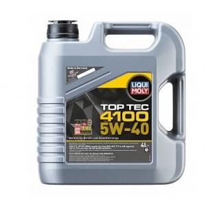 Масло моторное LIQUI MOLY 7547 Top Tec 4100 5W-40 MB HC 4л
