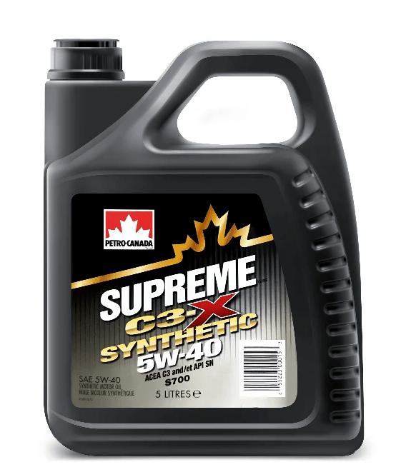 Масло моторное PETRO-CANADA  SUPREME  C3-X  SYNTHETIC 5W-40 SN/CF C3 синтетика 1л