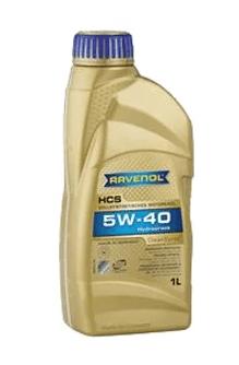 Масло моторное Ravenol HCS 5W-40 SN синтетика 1л