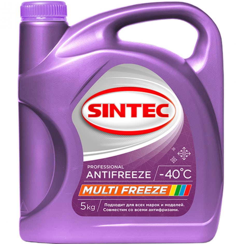Антифризы SINTEC Multifreeze
