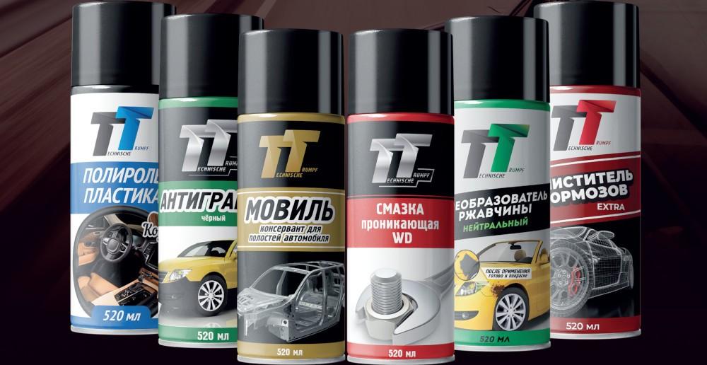 Смазки и автокосметика TT в СК-Авто